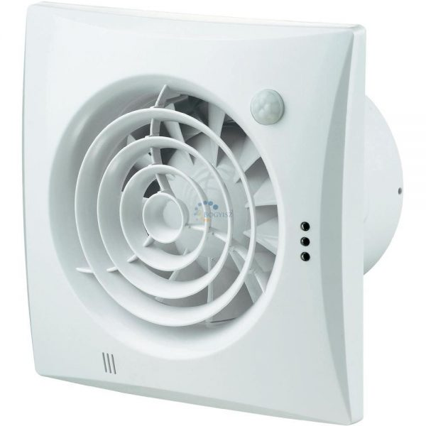 Zajcsökkentett ventilátor