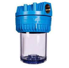 Műanyagházas vízszűrő