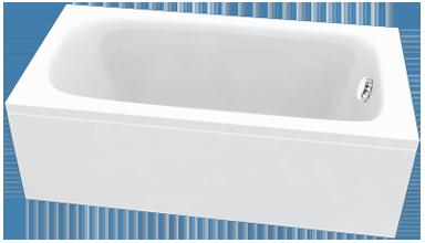 Egyenes fürdőkád
