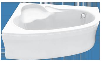 Aszimmetrikus fürdőkád